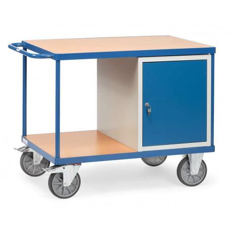 image cover Etabli mobile d'atelier avec 1 placard
