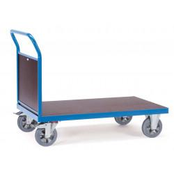 Chariot à dossier pour charges lourdes