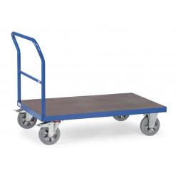 Chariot à dossier de poussée pour 1200 kg de charges