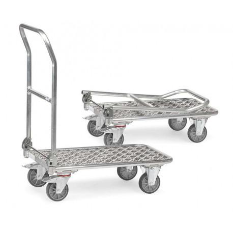 image cover Chariot pliant à dossier en aluminium