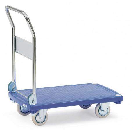 image cover Chariot pliant à 1 plateau plastique