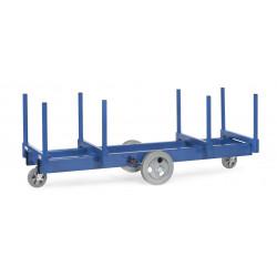 Chariot pour charges longues - 3000 kg de charges