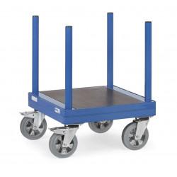 Chariot pour charges longues avec barres
