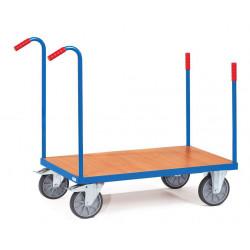 Chariot à 4 barres de poussée avec 2 poignées