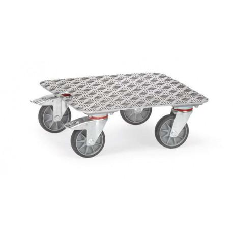 image cover Plateau roulant en aluminium