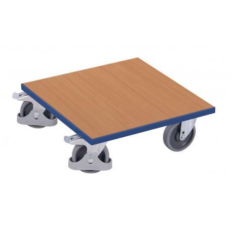 image cover Plateau roulant pour caisses avec plateau...