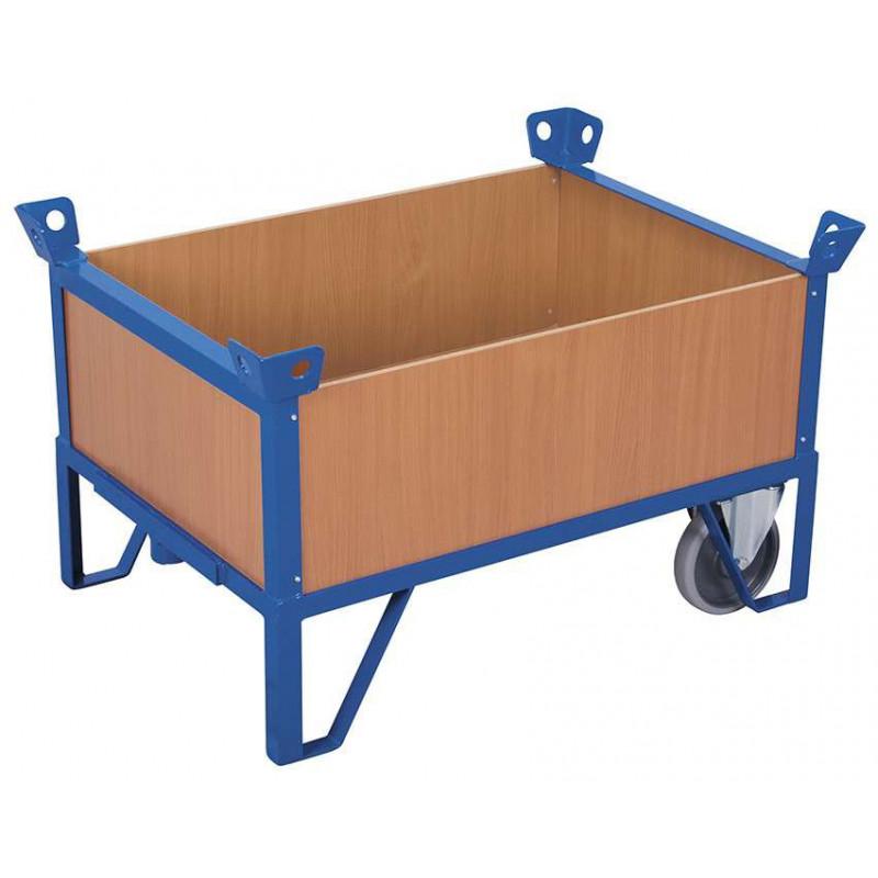 plateau roulant 4 parois charge 500 kg pour les professionnels. Black Bedroom Furniture Sets. Home Design Ideas