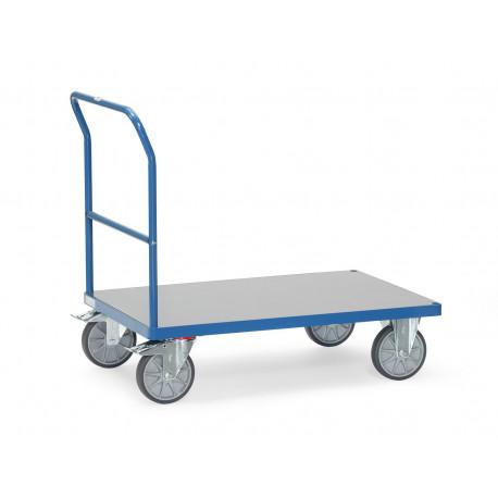 image cover Chariot à dossier de poussée avec plateau...