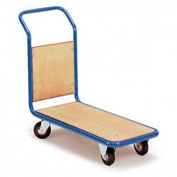 Chariot à 1 dossier fixe en bois