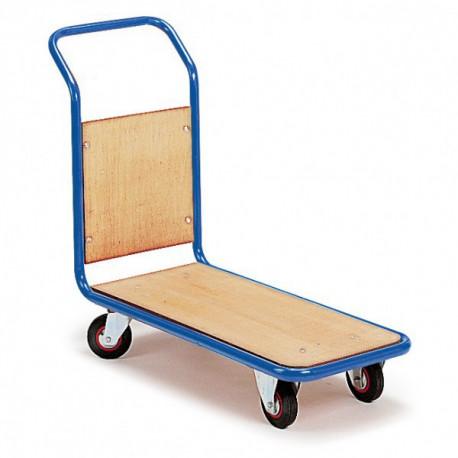 image cover Chariot à 1 dossier fixe en bois