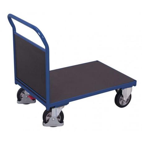 Chariot à 1 dossier avec contre-plaque étanche