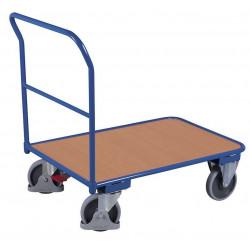 Chariot à 1 dossier tubulaire - 400 kg de charges