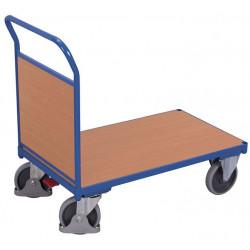 Chariot à dossier fixe en bois