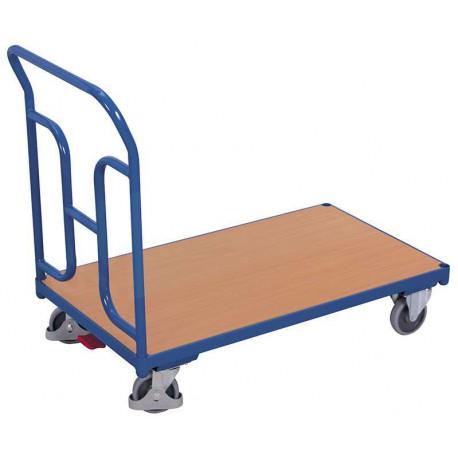 Chariot à 1 dossier tubulaire pour 250 kg de charges