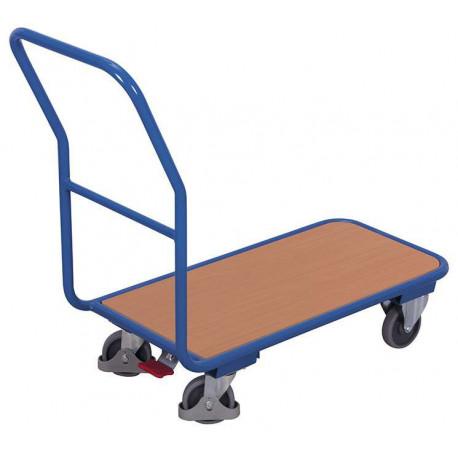 Chariot à dossier pour 200 kg de charges