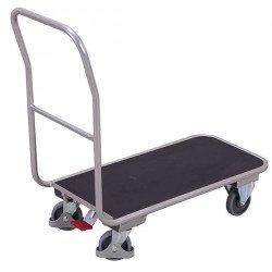 Chariot en aluminium avec plateau résistant à l'eau