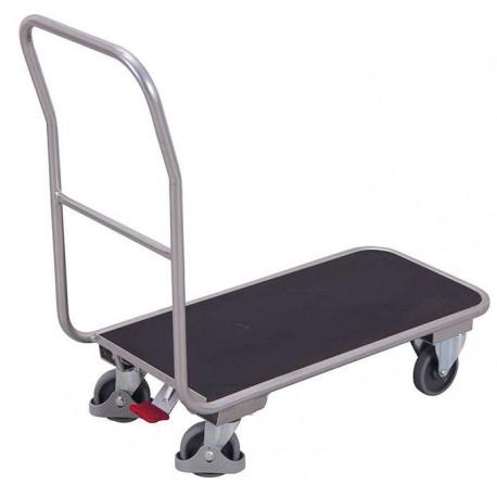 image cover Chariot en aluminium avec plateau...