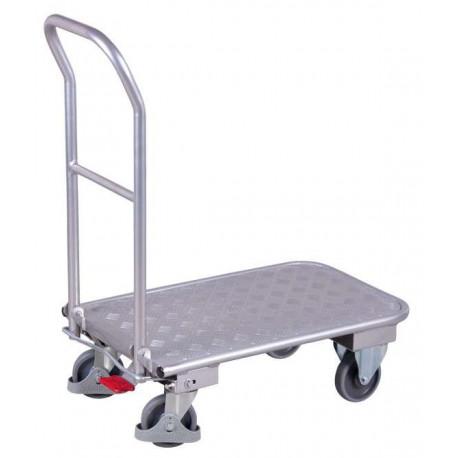 image cover Chariot en aluminium avec dossier repliable