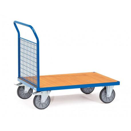 image cover Chariot à dossier en treillis métallique