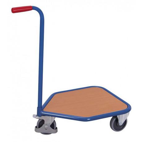 image cover Chariot col de cygne avec 1 plateau en...