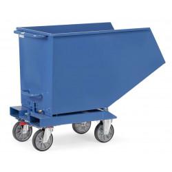 Benne basculante chariot