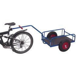 Char à bras pour à vélo avec parois