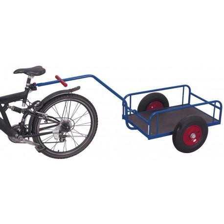 image cover Char à bras pour à vélo avec parois