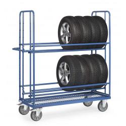 Chariot pour pneumatiques - 400 kg de charges