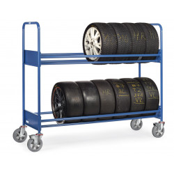 Chariot pour pneumatiques - 500 kg de charges