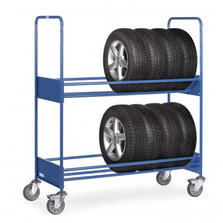 chariot pour pneumatiques 2 tages pour les professionnels. Black Bedroom Furniture Sets. Home Design Ideas