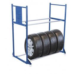 Rack à pneus avec 2 étages