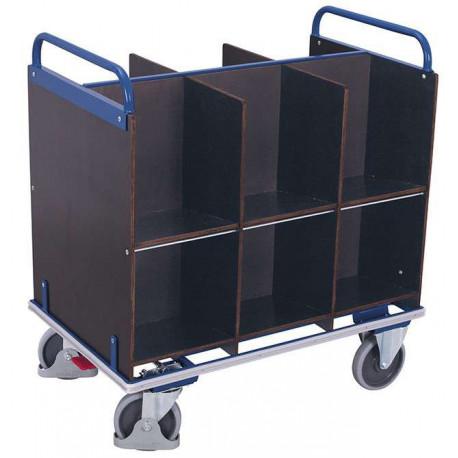 image cover Chariot porte-documents avec 12 casiers