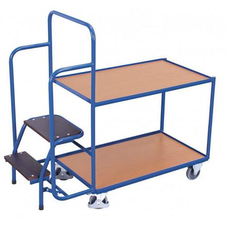 image cover Chariot bas préparateur de commandes avec...