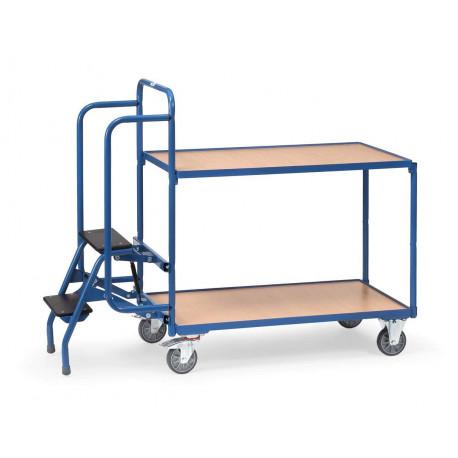 image cover Chariot préparateur de commandes à 2 plateaux