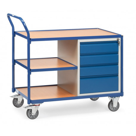 image cover Servante d'atelier avec 4 tiroirs et 3...