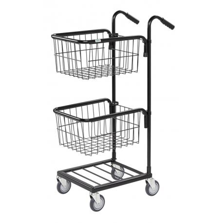 image cover Mini chariot avec 2 paniers pour charges...