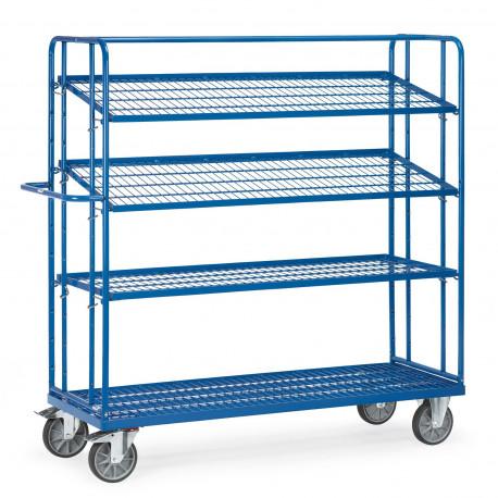 image cover Chariot haut à 3 étagères en treillis