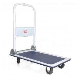 Chariot à dossier pliant, charge 150 kg