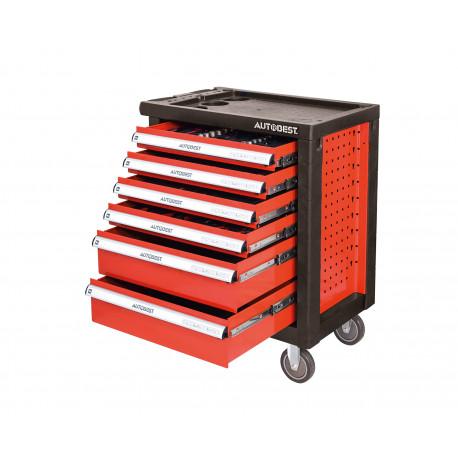 image cover Servante d'atelier complète à 6 tiroirs +...