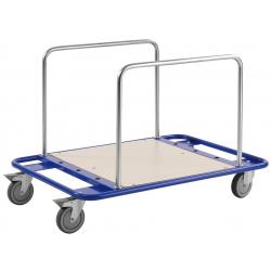 Chariot à arceaux porte panneaux, charge 150 kg