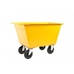 Benne à déchets avec roulettes, volume 400 litres