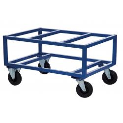 Chariot porte palette avec cadre rehaussé, charge 800 kg