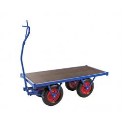 Remorque à bras avec frein de stationnement, 1500 kg