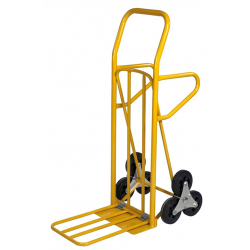 Diable escalier avec double pelle pliable, charge 200 kg
