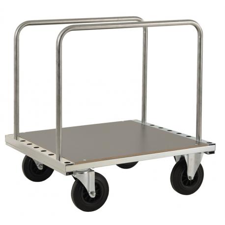 Chariot porte panneaux à arceaux, charge 500 kg