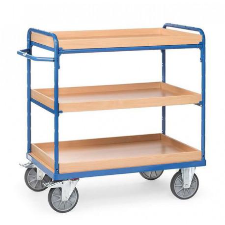 image cover Chariot haut à 3 caissettes