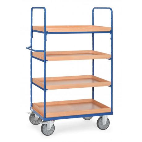 image cover Chariot haut à 4 caissettes