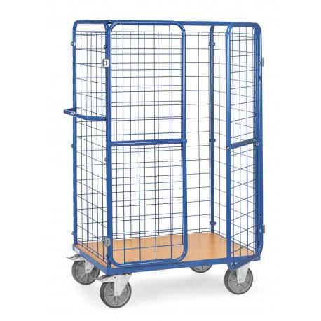 image cover Chariot haut pour colis avec portes battantes