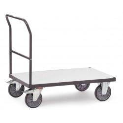 Chariot ESD à dossier de poussée