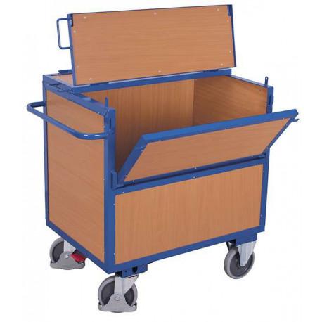 image cover Chariot caisse avec toit